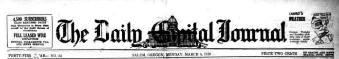 Salem Capital Journal masthead