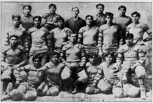 All-American Indian football team, circa 1905