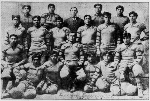 All-American Indian football team, circa 1905