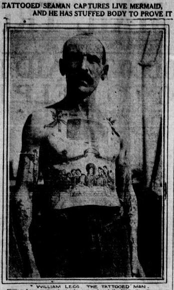 tattooed sailor, 1912