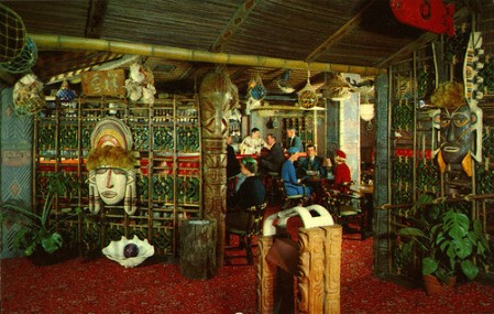 Inside Trader Vic's, Benson Hotel, Portland OR