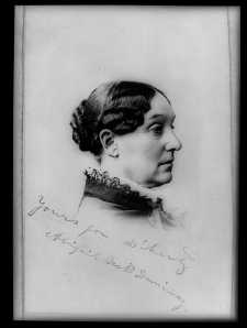 Abigail Scott Duniway.  Photo courtesy of Library of Congress.