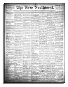 Portland the New Northwest, June 8, 1877