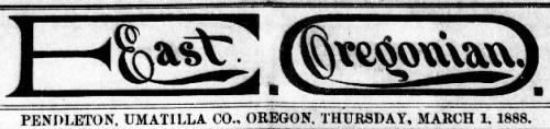 East Oregonian