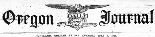 Oregon Daily Journal
