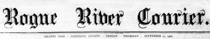 Rogue River Courier