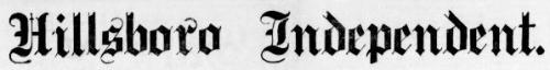 Hillsboro Independent