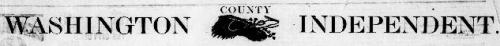 Washington County Independent