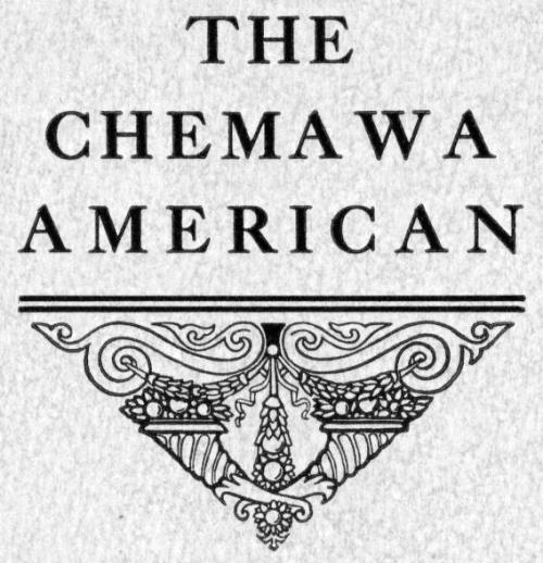 The Chemawa American masthead